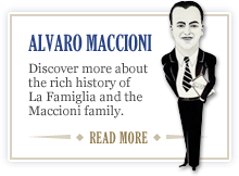 The Alvaro Maccioni story