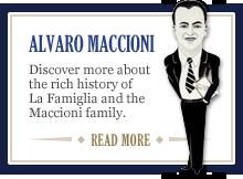 The Alvaro Maccioni story